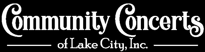 Community Concerts of Lake City Logo