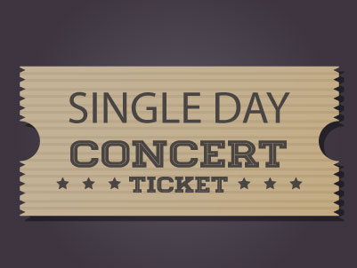 Community Concerts of Lake City - Single Day Ticket